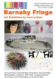Barnaby Fringe 15-24 June
